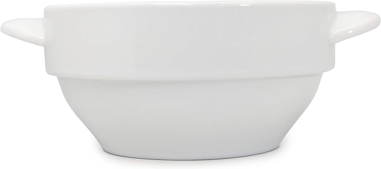 NERTHUS FIH 554 Bol en porcelaine pour soupe avec poign/ées