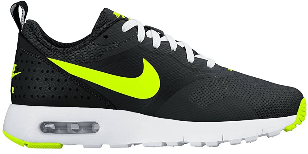 Amazon.com | Nike Kid's Air Max Tavas GS, BLACK/VOLT-WHITE, Youth Size 6 |  Shoes