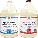 Amazon com: Table Bar Top Clear Epoxy Resin - ProGlas 1000 - 2