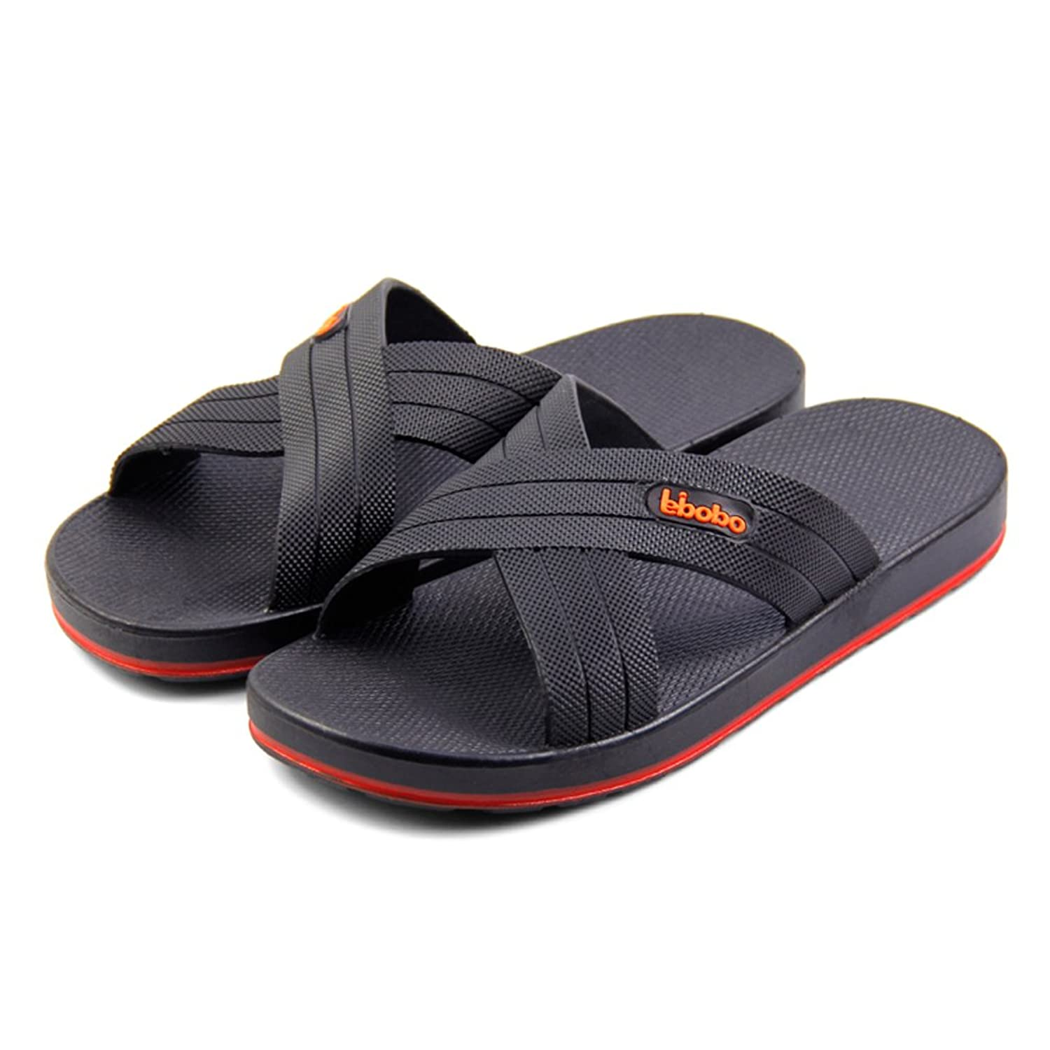 ed1143b69d36a6 2015 New Men Indoor Bath Anti-skid Slippers Free Shipping 5