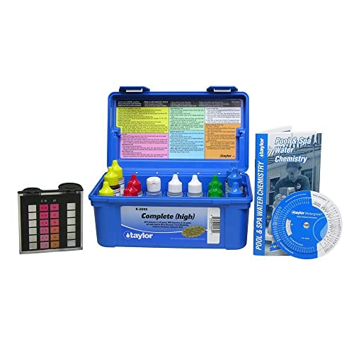 Taylor Deluxe K-2005 DPD Pool and Spa Water Test Kit