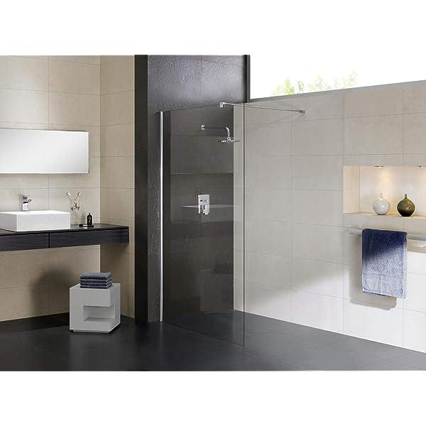 50x200cm Mampara ducha Panel Pantalla Fija cristal 8mm templado ...