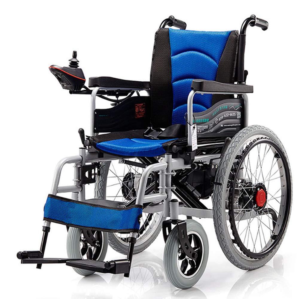 Chair Silla de Ruedas eléctrica Plegable con Motor Doble con 2 baterías de hasta 15 Millas Silla de Ruedas Liviana portátil, Segura y fácil de Conducir ...