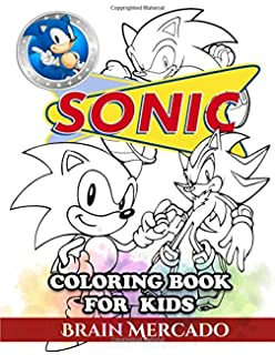 Sonic the Hedgehog Coloring Book: Coloring All Your Favorite Sonic ...