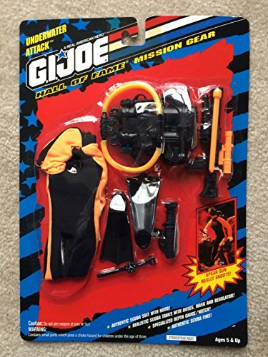 Joe Gear Mission Gi (G.I Joe Hall of Fame Underwater Attack Mission Gear by G. I. Joe)
