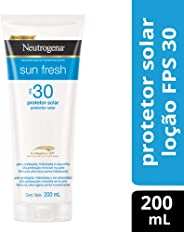 Protetor Solar Sun Fresh FPS 30, Neutrogena, 200ml