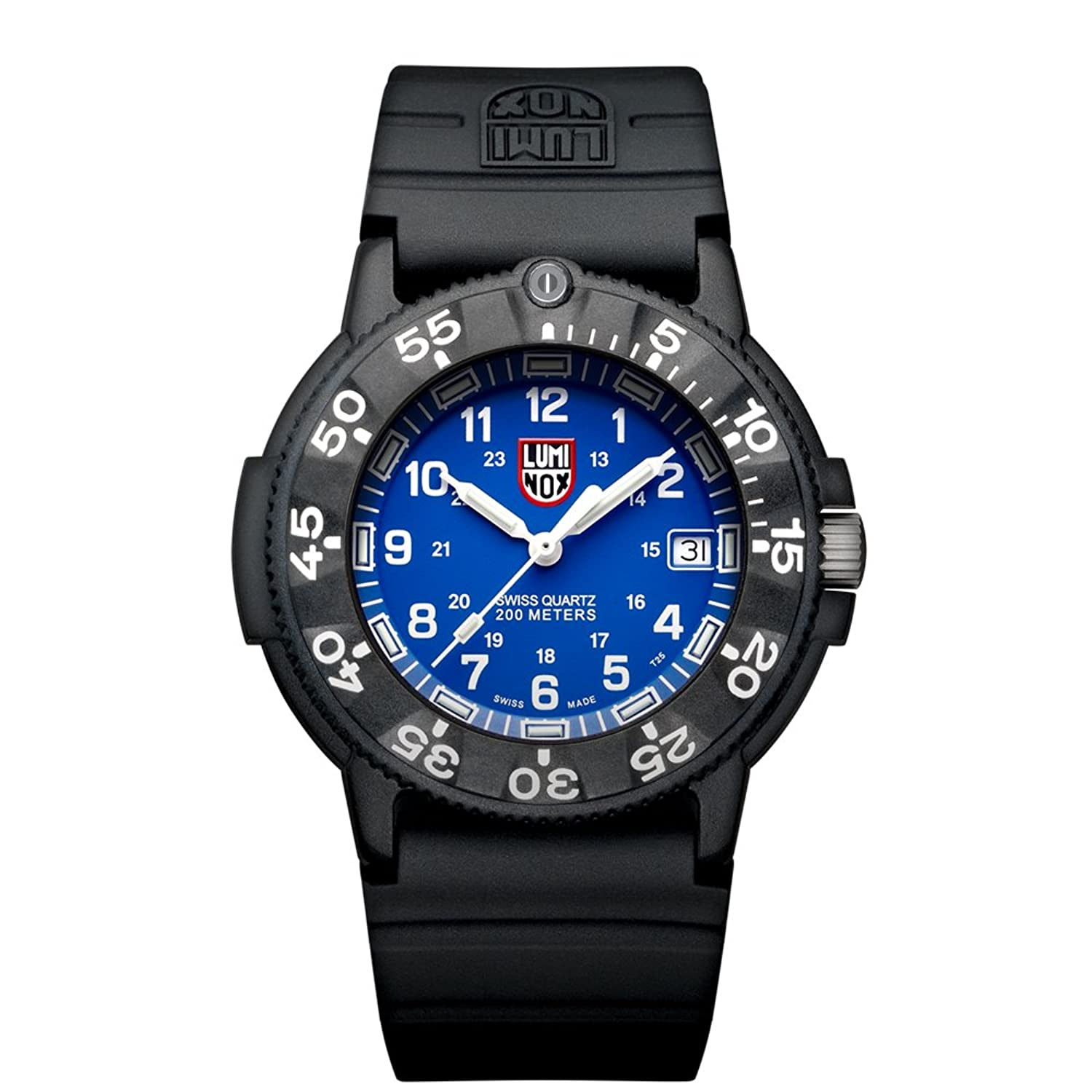 Luminox Original Navy SEAL Herren-Armbanduhr Analog Quarz Kautschuk - LU3003