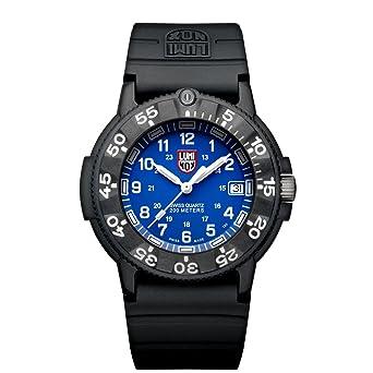 Luminox Original Navy SEAL LU3003 Reloj de pulsera Cuarzo Hombre correa de Caucho Negro: Luminox: Amazon.es: Relojes