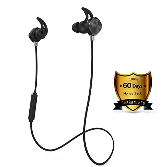 Wireless Headphones, Origem Bluetooth 4.1 Sports Sweatproof In-ear Earbuds Earphones Headset Noise Cancellation