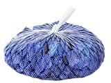 Down To Earth Deep Blue Sea Glass - For Vases Filler or Ponds, 2 lbs