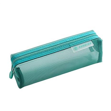 Chakil Caja de lápices de Rejilla Simple Bolígrafos Escolar ...