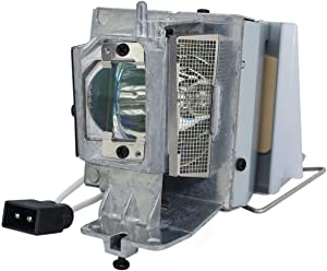 PHO 725-BBEH Genuine Original Replacement Bulb/Lamp with Housing for Dell Projector (OEM Philips Bulb)