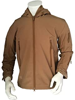 Mens Army Outdoor Military Special Ops Softshell Tactical Hooded Jacket Hunting Jacket