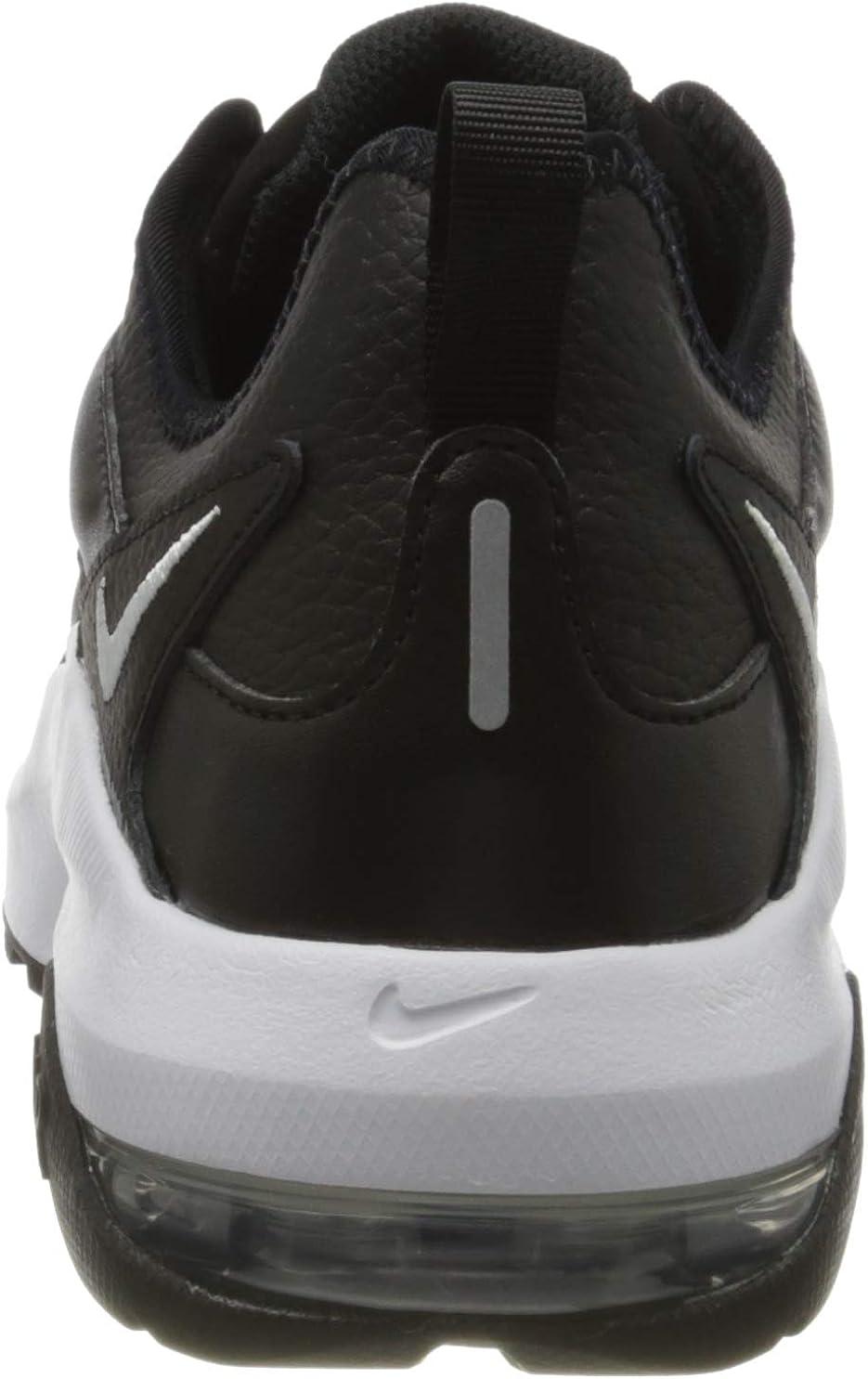 Nike Air Max Graviton Lea, Sneakers Basses Homme Noir Black White 101