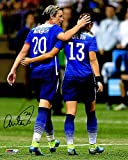 Abby Wambach Signed USA Soccer With Alex Morgan 8 x 10 Photograph - Signed Soccer Collectibles