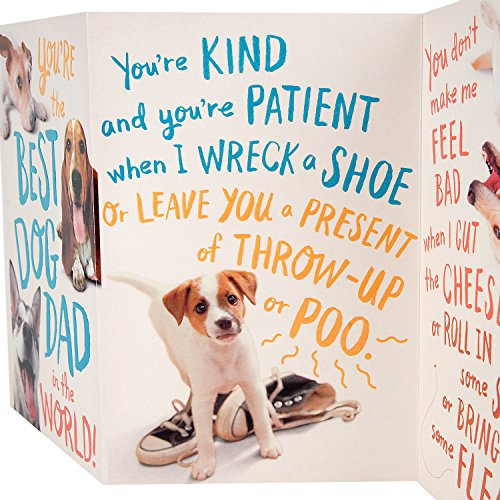 Hallmark Funny Father's Day Greeting Card from the Dog (Dog Dad) Photo #7