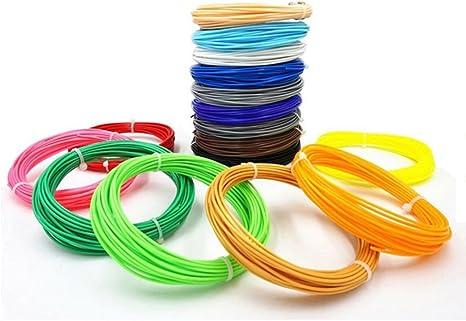 Recambios de filamento para impresora 3D, PLA brillan en la ...