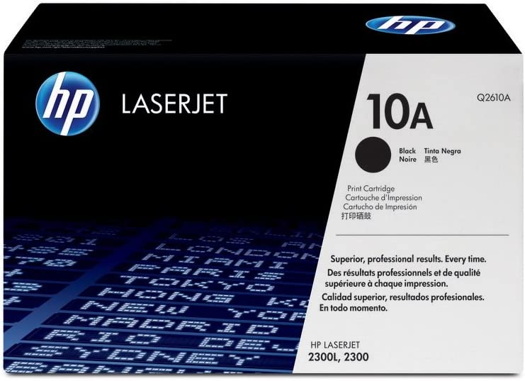 HP 10A | Q2610A | Toner Cartridge | Black | DISCONTINUED BY MANUFACTURER