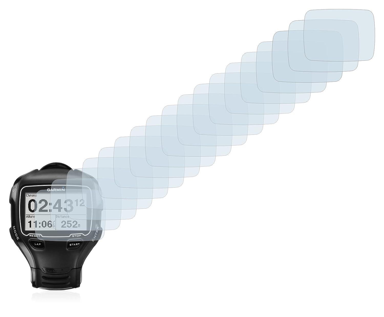 6 Unidades Savvies Protector de Pantalla para Garmin Forerunner 910XT Transparente