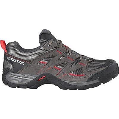 Salomon , Chaussures de randonnée basses pour femme multicolore Grau/Schwarz/Pink