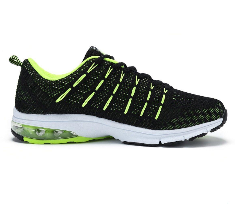 NANXIE Zapatos Deportivos Ligeros para Hombres Zapatos Deportivos Multiusos Cojín De Aire para Verano Zapatos De Viaje Transpirables Ocasionales Zapatos Deportivos De Malla para Hombres 39|Negro