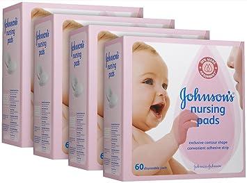 Johnsons Nursing Pads - Contour - 60 ct - 4 pk