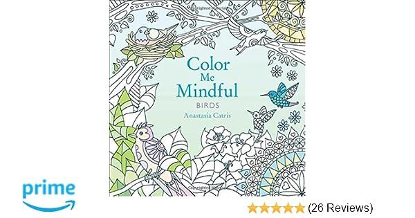 Amazon Color Me Mindful Birds 9781501130885 Anastasia Catris Books