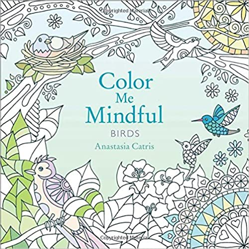 Color Me Mindful: Birds