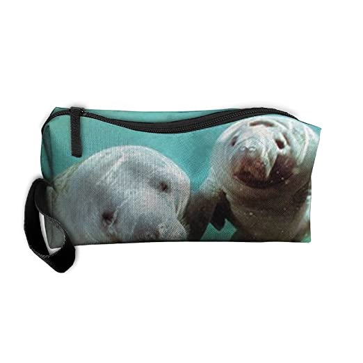 164e9e46dea5 Amazon.com: Pair Of Manatee Doug Perrine Ocean Animal Travel Kit ...