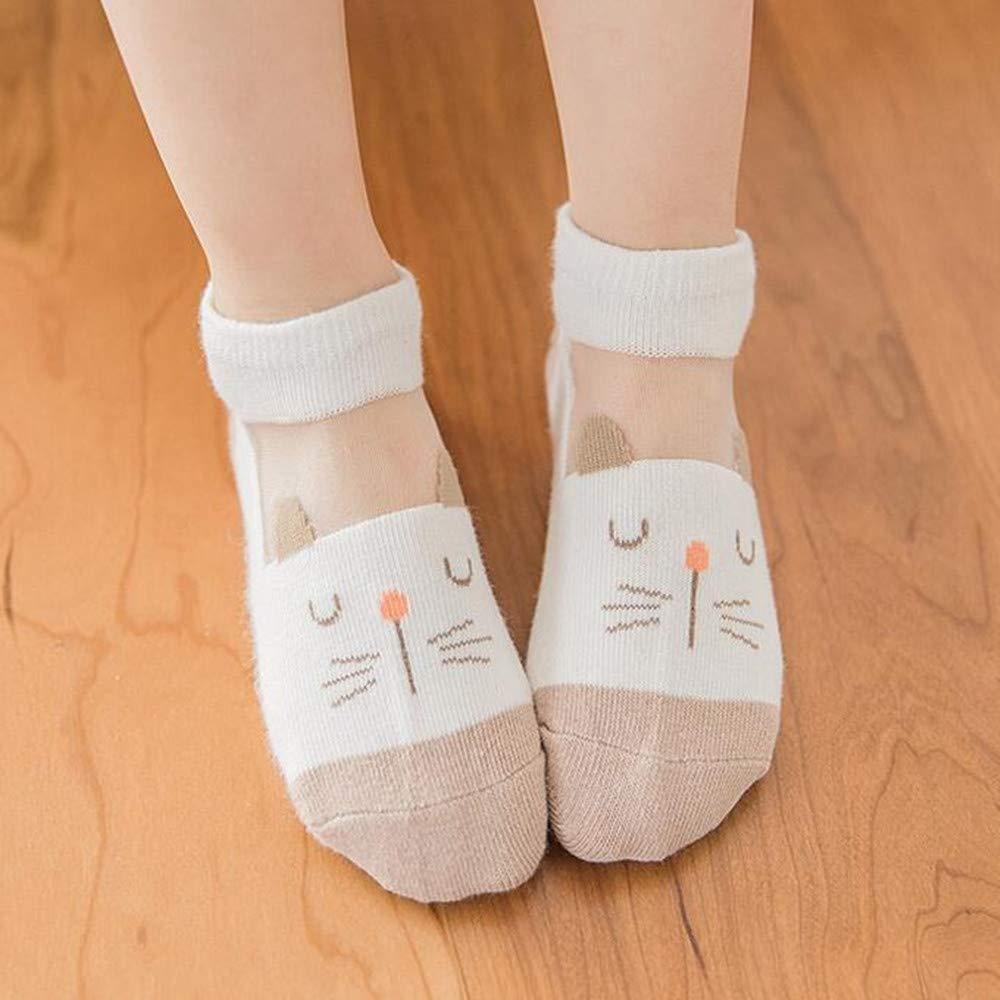 5 Pairs Summer Socks for kids,Baby Breathable Mesh Socks