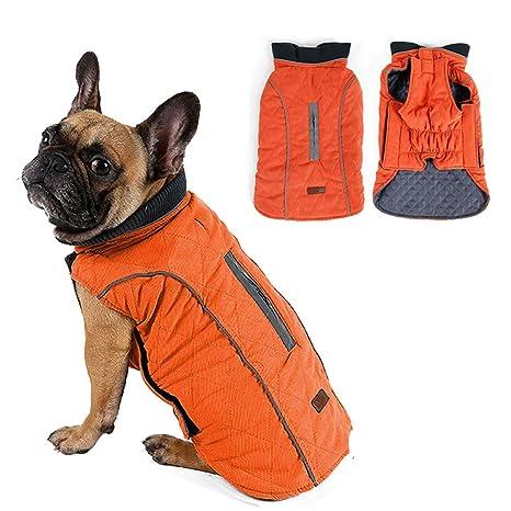 Abrigo de invierno para mascotas, cálido, para perros pequeños ...