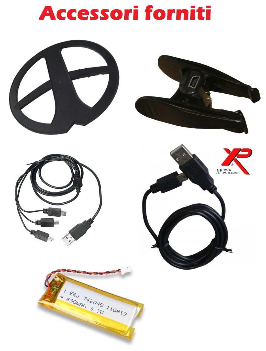 Metal Detector XP Xplorer Deus 9 Lite + auriculares WS5 sin hilos: Amazon.es: Deportes y aire libre