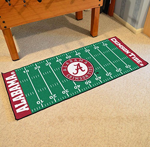 Football Runner Floor Mat - University of (University Floor Runner)