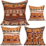 Pillow Cases - Vintage African American Photos Art Dresses Figurines Barbie Wall Textile Ps Dress For Women Fabric Style Throw Pillows Orange Pillow Cases - 1PCs