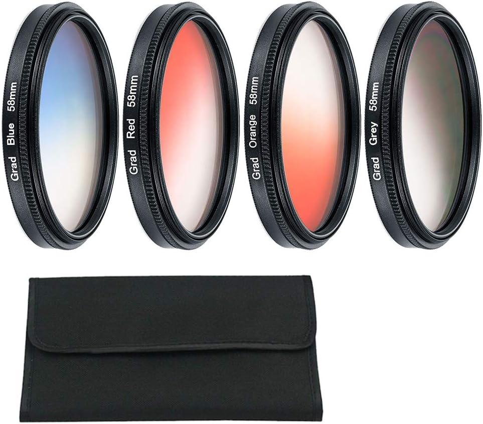 XuBa ND FLD UV MC Grad Round Gradient Filter 52mm 58 67 55 77 mm for Nikon Canon EOS 7D 5D 6D 50D 60D 600D d5200 d3300 d3200 77MM