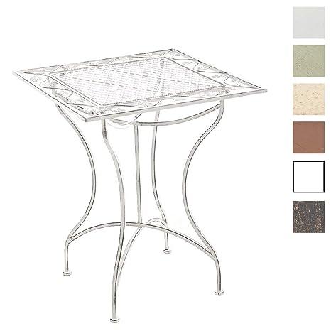 Tavolo Quadrato Da Esterno.Clp Tavolino In Ferro Asina Da Giardino Tavolo Quadrato Da Balcone