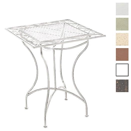 Tavoli Da Giardino Stile Provenzale.Clp Tavolino In Ferro Asina Da Giardino I Tavolo Quadrato Da