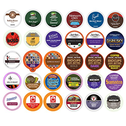 kcup dark roast variety pack - 3