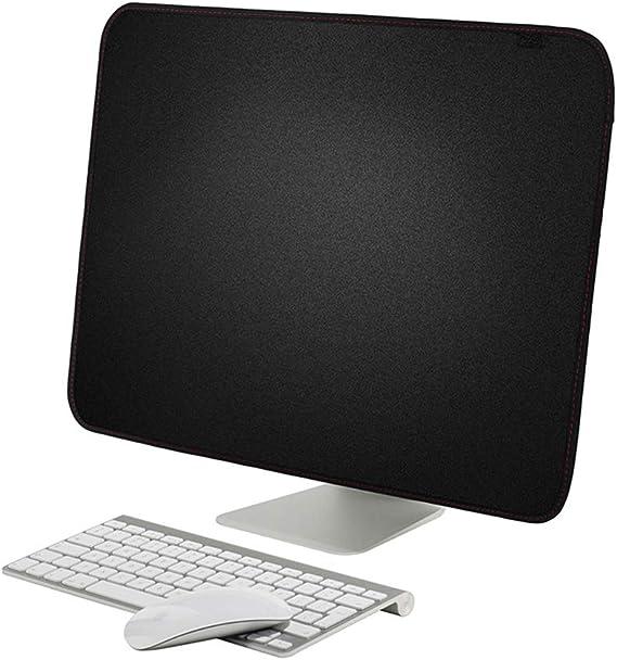 Funda Protectora de Pantalla para Apple iMac de 21 Pulgadas/iMac Pro de 27 Pulgadas, Oxford, Resistente al Polvo y al Agua, con Bolsillo, Color Negro: Amazon.es: Electrónica