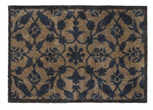 Turtle Mat Botanica Fußmatte, äußerst saugfähig, rutschhemmende Unterseite, 75x120cm