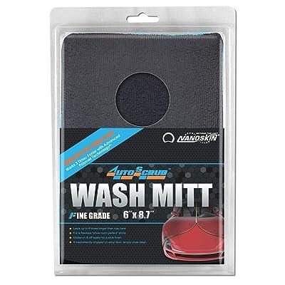AUTOSCRUB Fine Grade Wash Mitt [AS-016]: Automotive