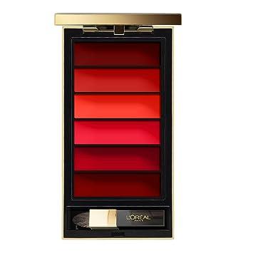 Loréal Paris Color Riche Palette De Maquillage Lèvres Rouge