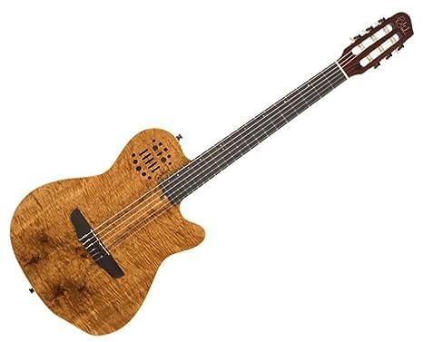 Godin guitarras ACS nailon sintetizador access 2-voice guitarra eléctrica en KOA HG B-