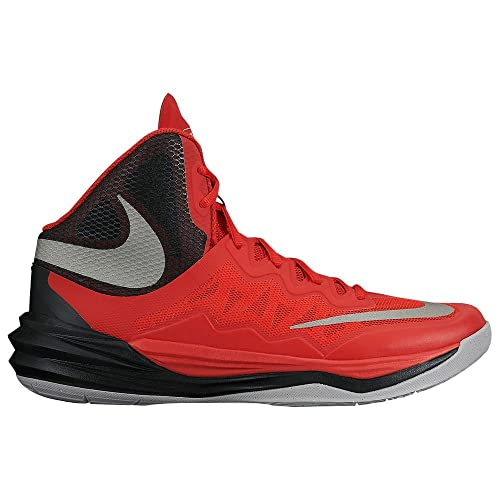 Nike Womens Basketball Shoes - Nike Prime Hype DF II University Red/Black/Wolf Grey/Reflect Silver T