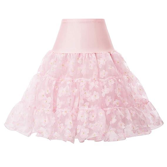 GRACE KARIN 1950 - Falda para Mujer (con Falda para Vestido de ...