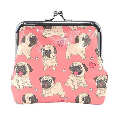 Amazon.com: Monedero con dibujos animados para perro, amor ...