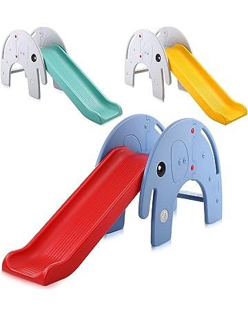 Baby Vivo tobogán para niños/tobogán - Elefante en Turquesa/Gris
