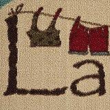 "Ottomanson LA4058O-2X5 Laundry Runner Rug, 20"" X"