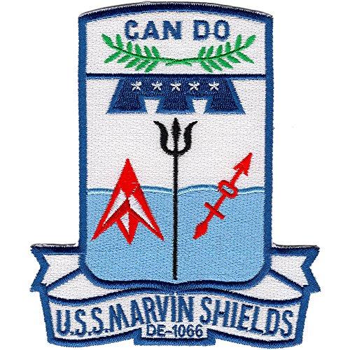 (DE-1066 USS Marvin Shields Patch Hastings)