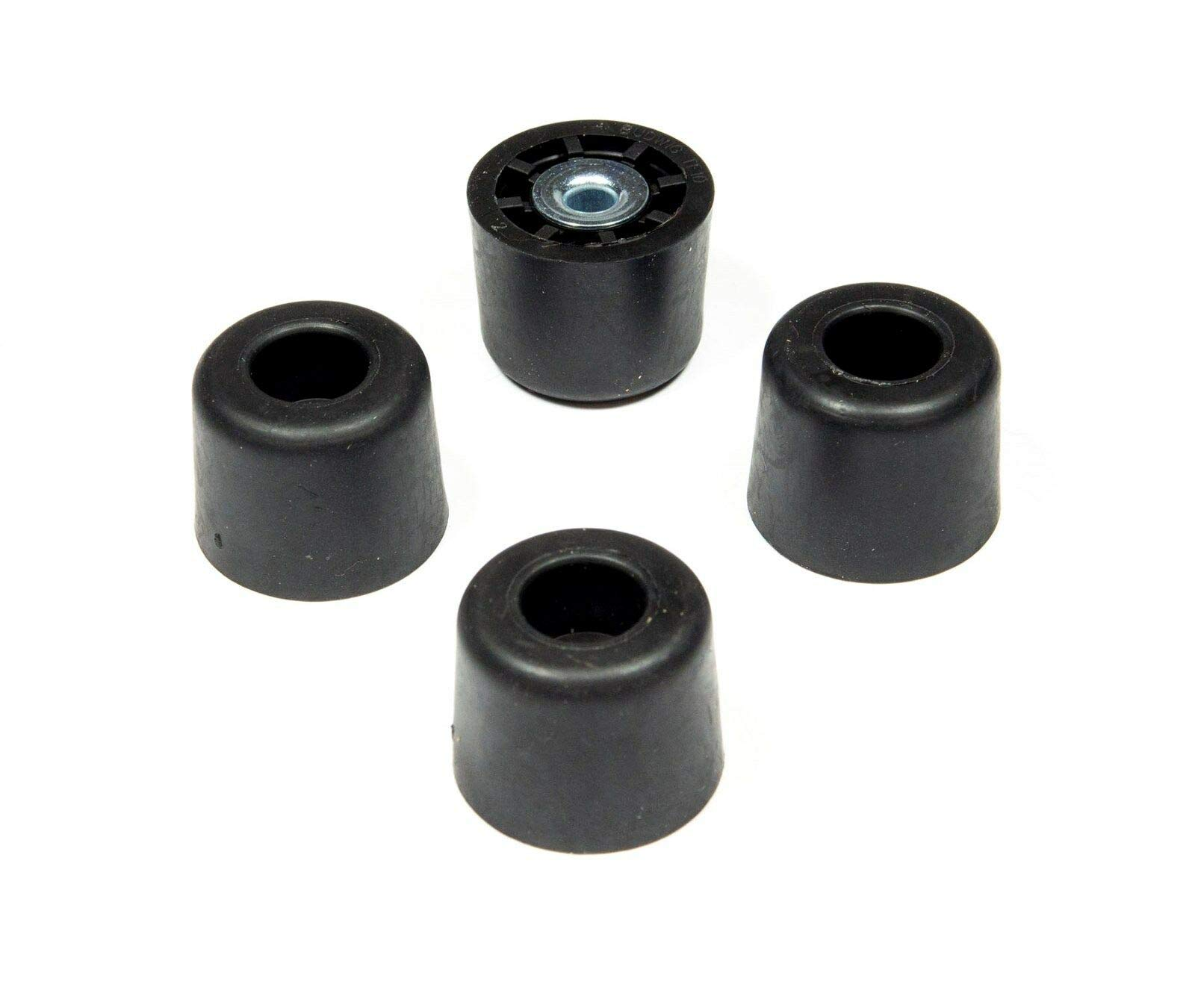 20 Extra Tall Round Rubber FEET Bumpers .875 H X 1.125 D AMPS, Radio - Free S&H